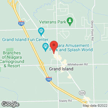 Map of Tim Hortons at 2366 Grand Island Blvd, Grand Island, NY 14072