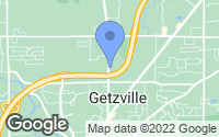 Map of Getzville, NY