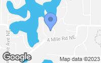 Map of Grand Rapids, MI