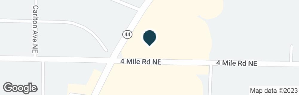 Google Map of3610 PLAINFIELD AVE NE