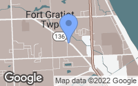 Map of Fort Gratiot Township, MI