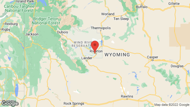 Central Wyoming College location map