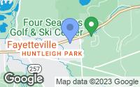 Map of Fayetteville, NY