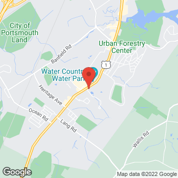 Map of Taco Bell at 2319 LaFayette Rd, Portsmouth, NH 03801