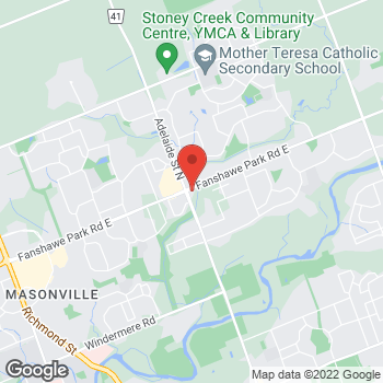 Map of Tim Hortons at 1536 Adelaide St N, London, ON N5X 1K4