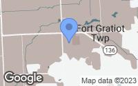 Map of Fort Gratiot Township, MI