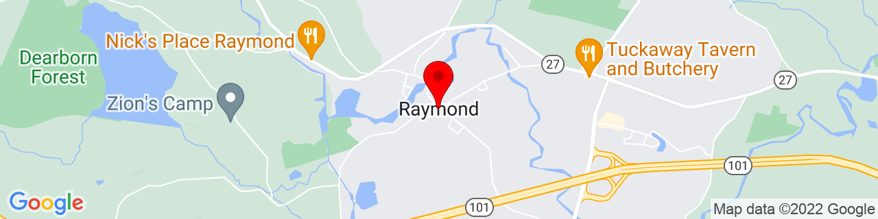 Google Map of 43.0361961, -71.1833951