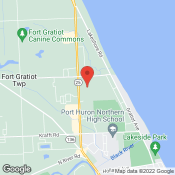 Map of Christopher & Banks at 4350 24th Avenue, #228, Port Huron, MI 48059