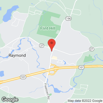 Map of Rite Aid at 3 Freetown Road, Raymond, NH 03077