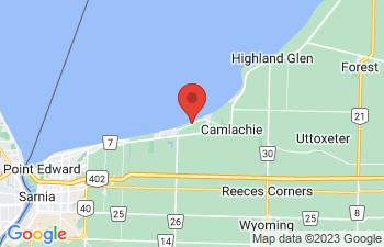 Map of Camlachie