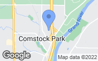 Map of Comstock Park, MI