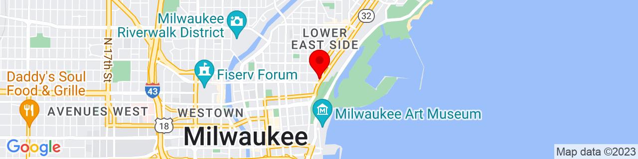 Google Map of 43.0460498, -87.89758379999999