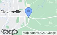 Map of Gloversville, NY