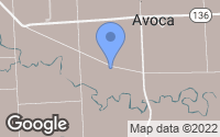 Map of Avoca, MI