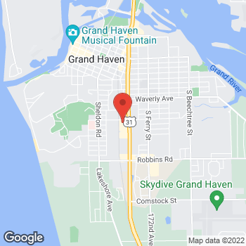 Map of Allied Cash Advance Beacon Blvd at 1013 S. Beacon Blvd., Grand Haven, MI 49417