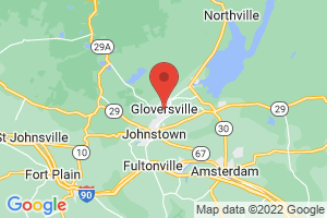 Map of Gloversville