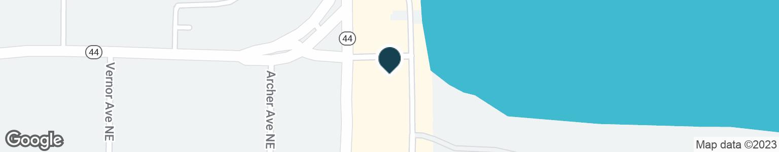 Google Map of5100 E BELTLINE AVE NE