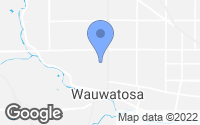 Map of Wauwatosa, WI