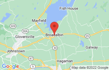 Map of Broadalbin