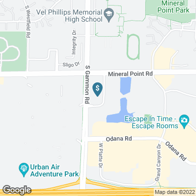 A map image showing the branch or ATM location