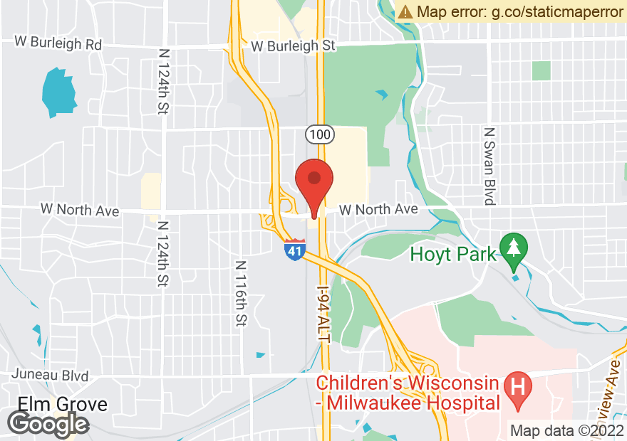 Google Map of 2275 N MAYFAIR RD