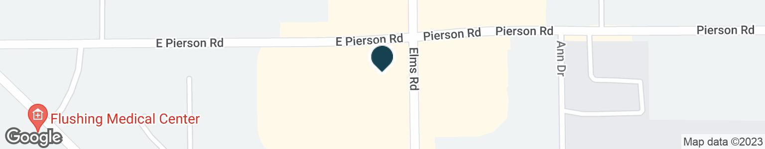 Google Map of1570 E PIERSON RD