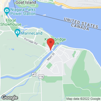 Map of Tim Hortons at 8089 Portage Rd, Niagara Falls, ON L2G 5Z2