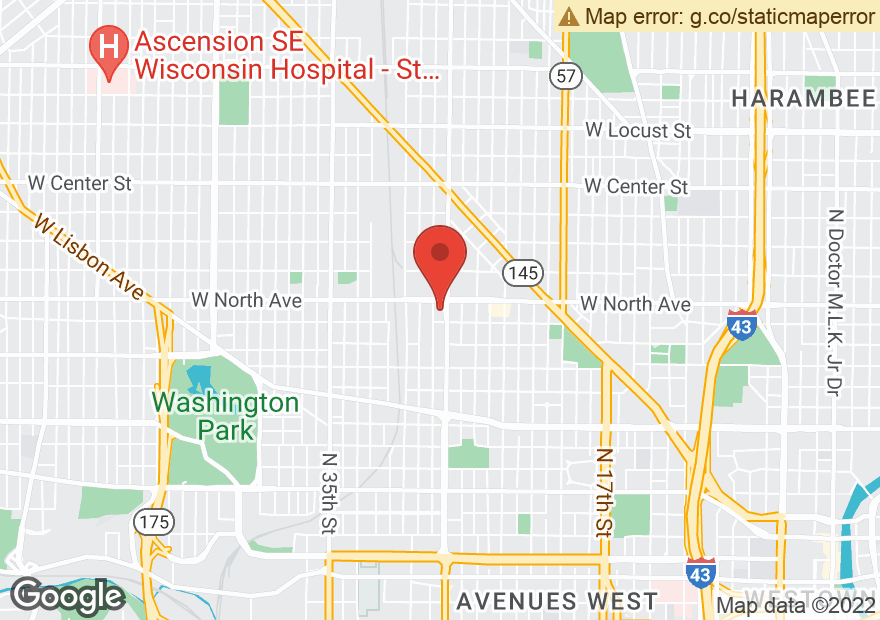 Google Map of 2727 W NORTH AVE