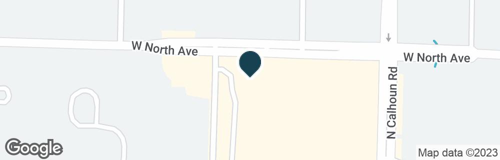 Google Map of2205 N CALHOUN RD