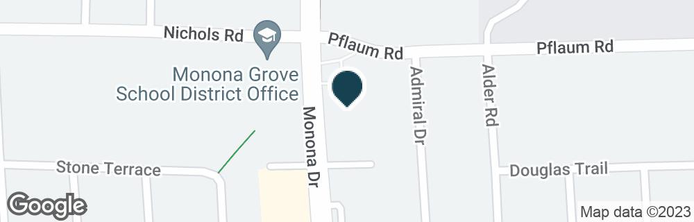 Google Map of5300 MONONA DR