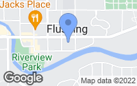 Map of Flushing, MI