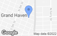 Map of Grand Haven, MI