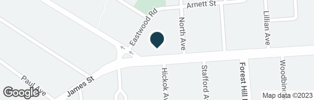 Google Map of2329 JAMES ST
