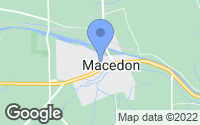 Map of Macedon, NY