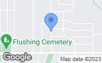 Map of Flushing, MI