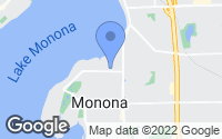 Map of Monona, WI