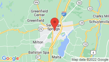 Map of Saratoga Springs
