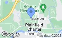 Map of Plainfield charter Township, MI