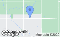 Map of Coopersville, MI