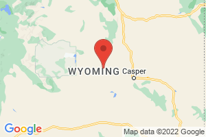 Map of Wyoming
