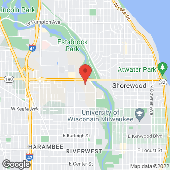 Map of Citi Trends at 709 East Capitol Drive, Milwaukee, WI 53212