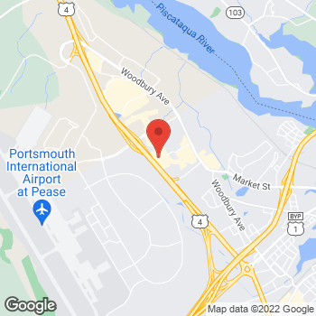 Map of Bed Bath & Beyond at 100 Durgin Lane, Portsmouth, NH 03801