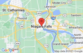 Map of Niagara Falls