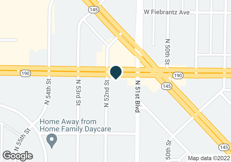 Google Map of5115 W CAPITOL DR
