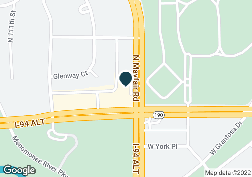 Google Map of10800 W CAPITOL DR