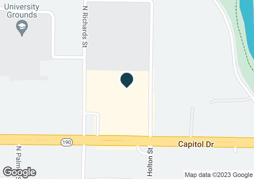 Google Map of370 E CAPITOL DR