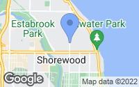 Map of Shorewood, WI