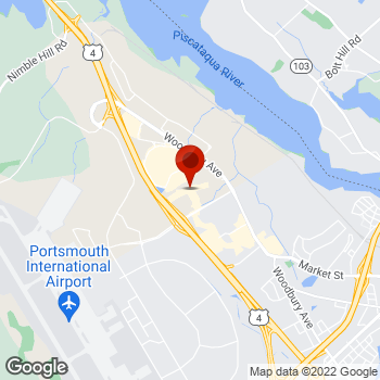 Map of Staples® Print & Marketing Services at 45 Gosling Rd, Newington, NH 03801