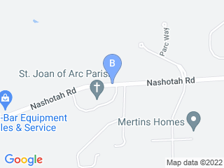 Map of Hickory Hill Bed   Biscuit of Delafield Dog Boarding options in Nashotah | Boarding