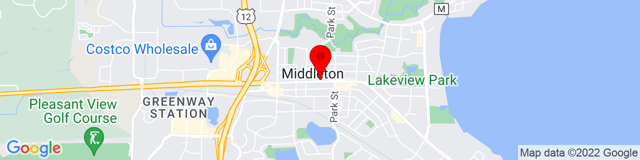Google Map of 43.09722222222222, -89.50416666666666